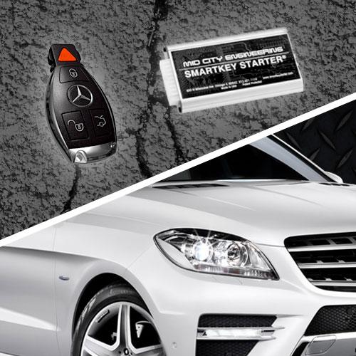 Smartkey starter sks164d mid city engineering store for Mercedes benz remote start app