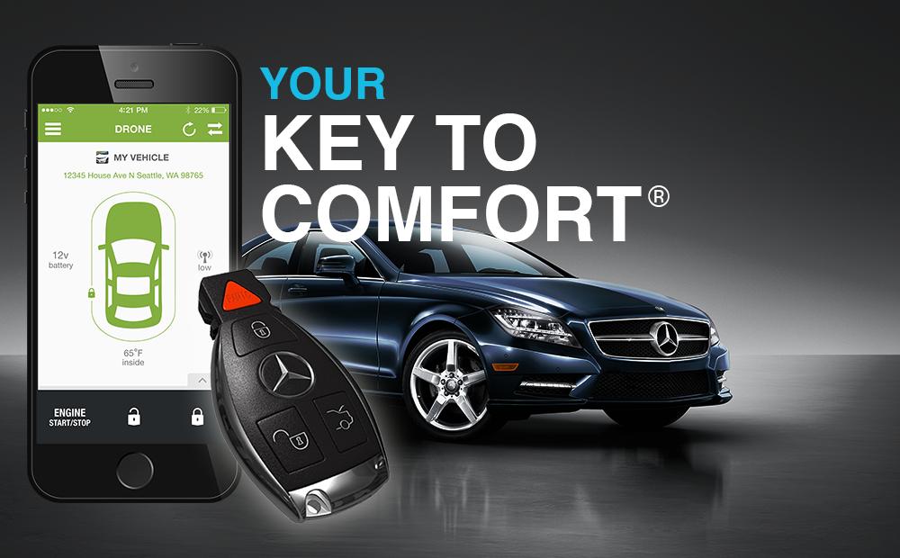 Sprinter mid city engineering store for Mercedes benz remote start app